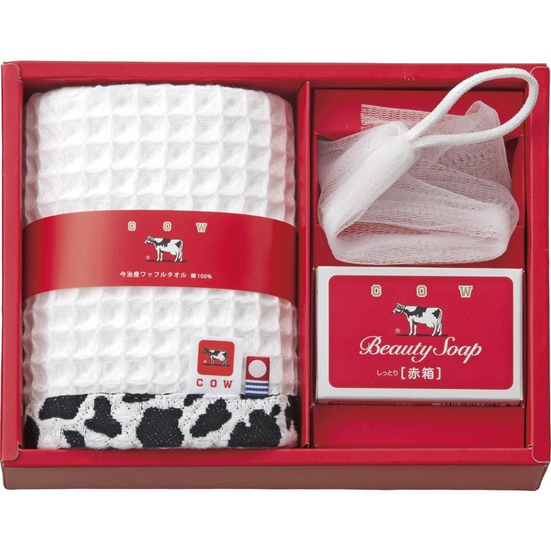 《牛乳石鹸》石鹸&タオルセット
