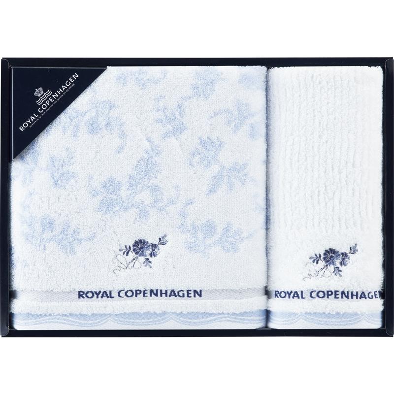 《ロイヤルコペンハーゲン:ブルーフラワー》バスタオル&ウォッシュタオル[30%OFF]